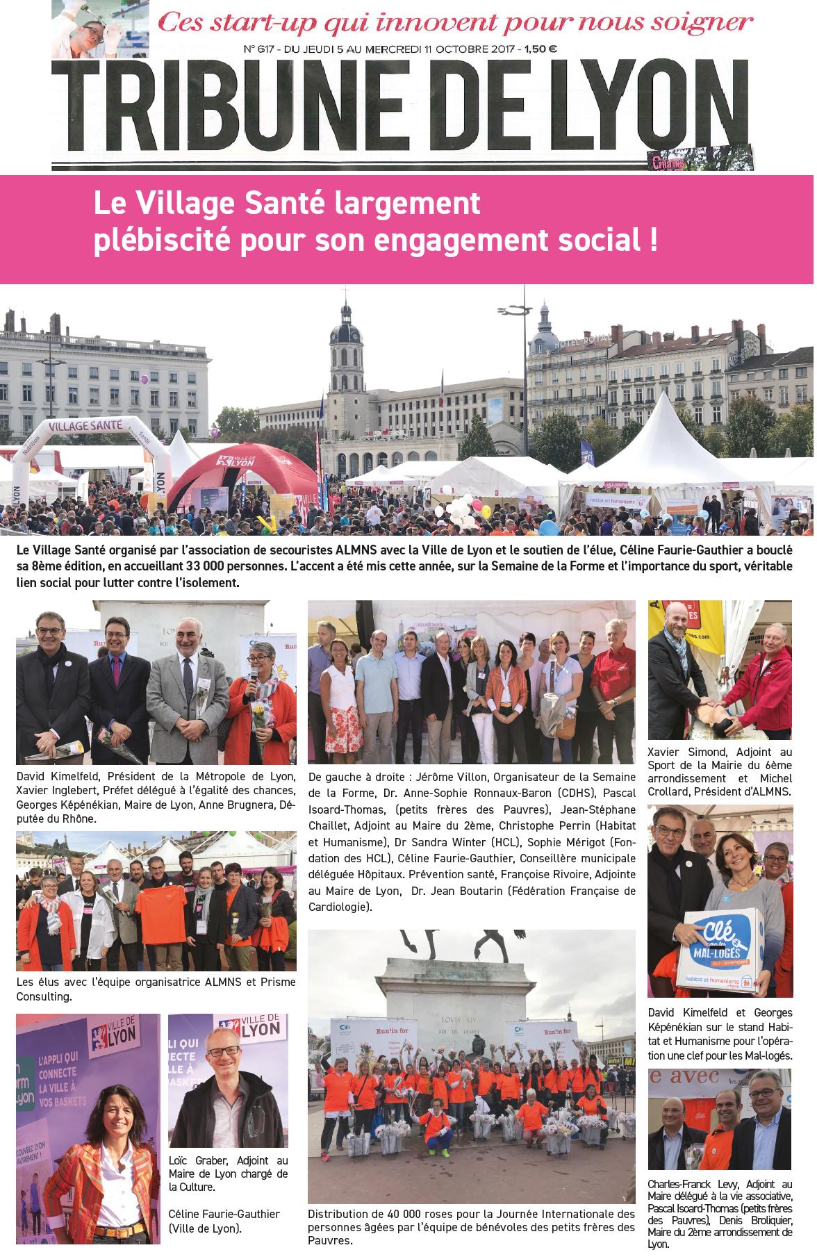 Reportage Tribune de Lyon